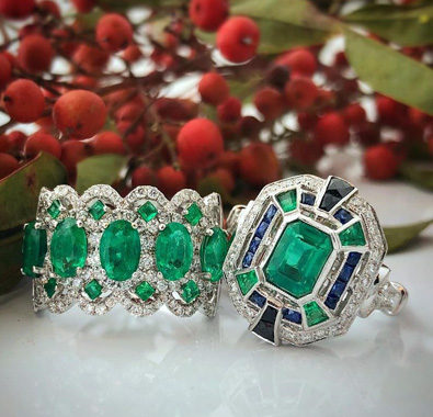 Gemstone Jewelry Collection Available At De Angelis Jewelers