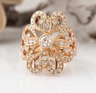 Pretty Design Rings Collection At De Angelis Jewelers