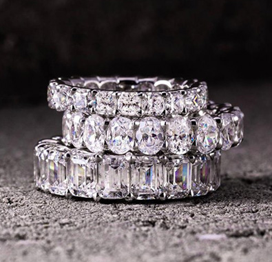 Shop Diamond Wedding Bands At De Angelis Jewelers