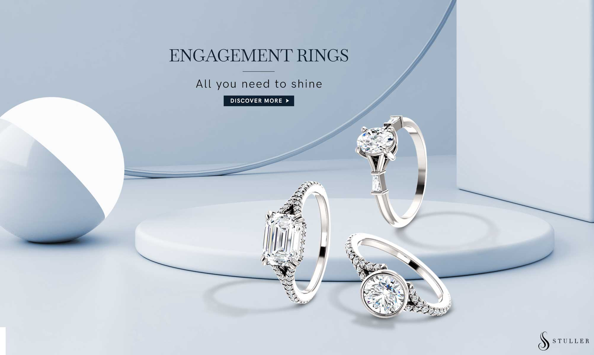Diamond Engagement Rings Collection Available At DeAngelis Jewelers