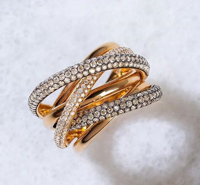 Buy Rose Gold Diamond Bands At DeAngelis Jewelers